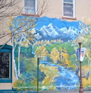Fine murals in Montrose