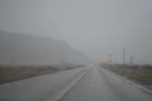Highway 550, north