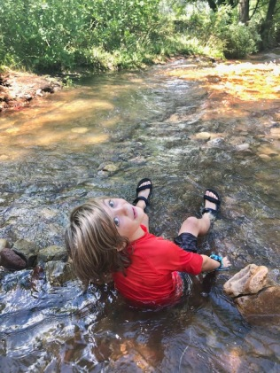 Cooling off in streams